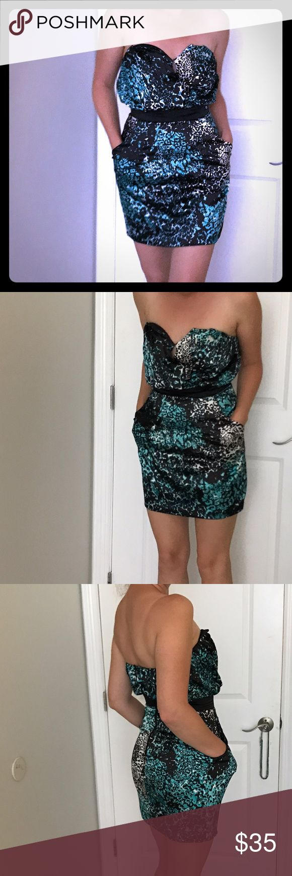 💐Guess dress🌸 leopard print guess dress. Only worn one time brand new condition. Guess Dresses