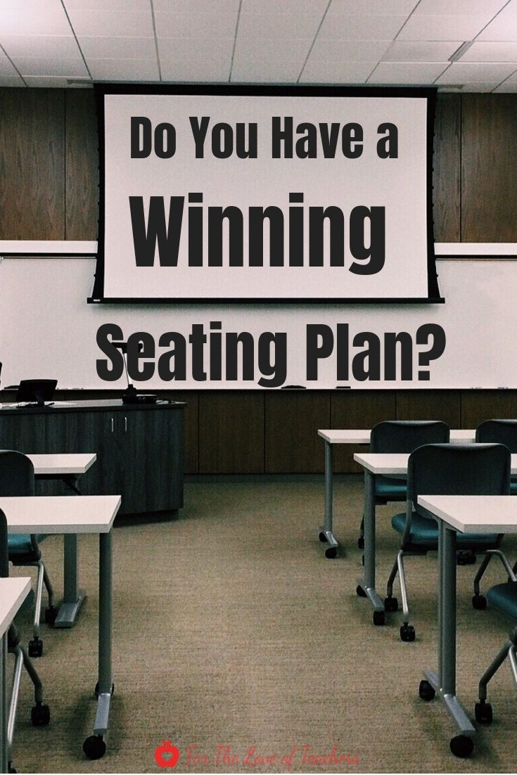 Do You Have A Winning Seating Plan Classroom Management