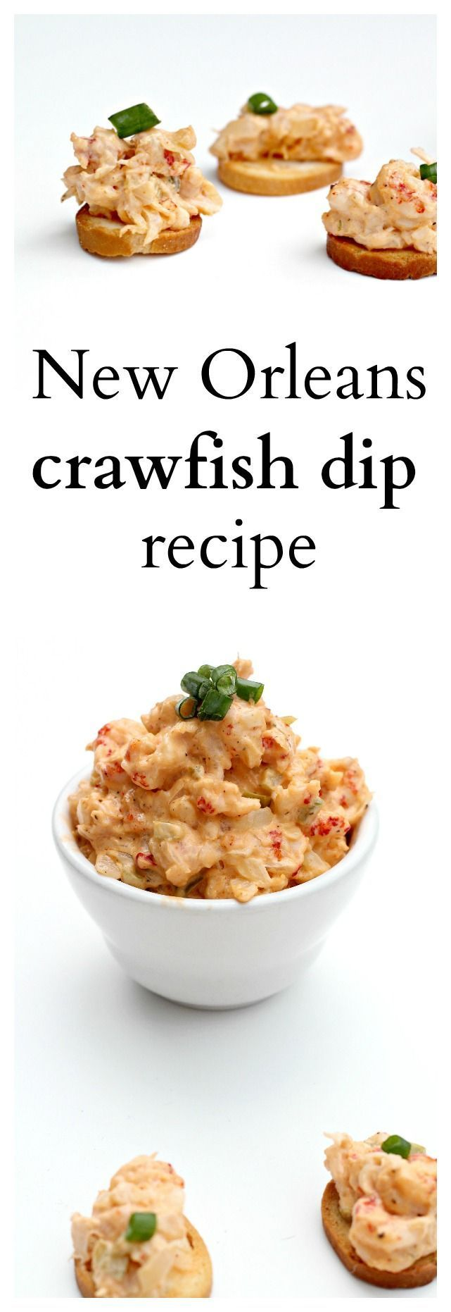 This crawfish dip recipe is addicting and really simple to make. Easy ...