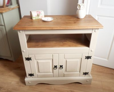 Annie Sloan Country Grey Mexican Pine Upcycle Home