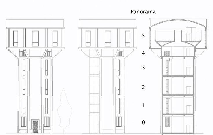 water tower house conversion belgium bham design studio (22)