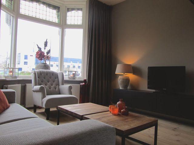 Ontwerp jaren '30 woning Totaal interieurontwerp inclusief lichtplan en maatwerk meubilair. www.huys91.nl