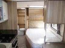 Plenty Of Storage Areas. Small Fridge Under Sink.