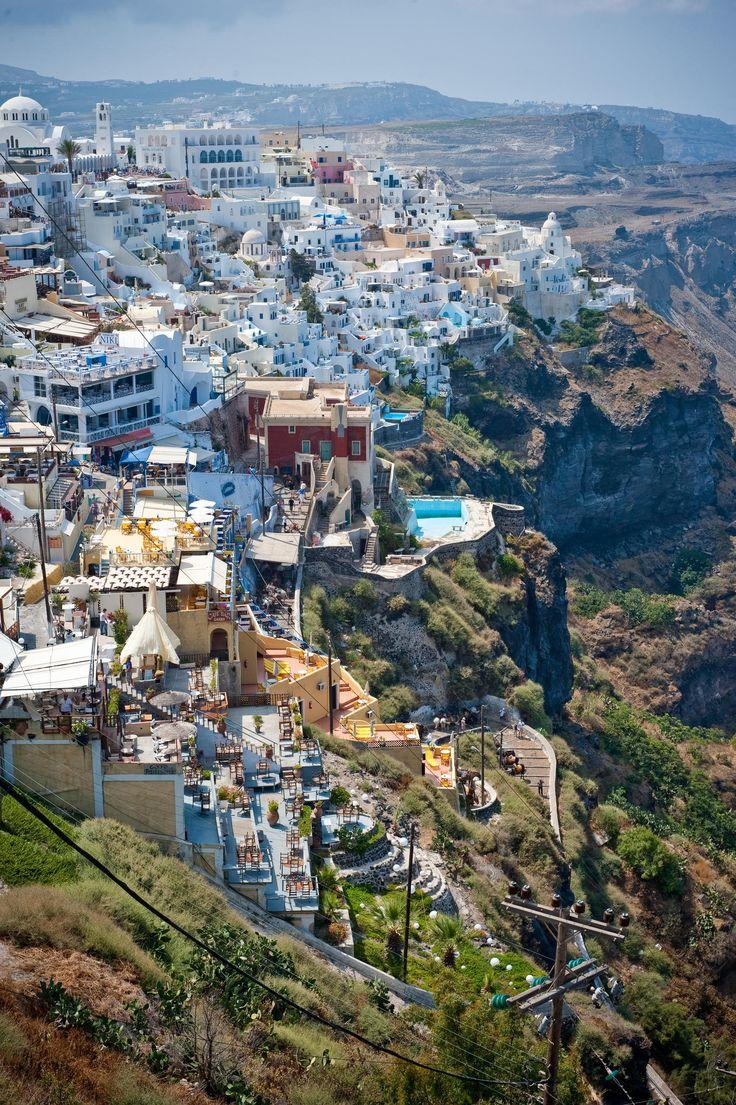 Fira Caldera by Day, Santorini