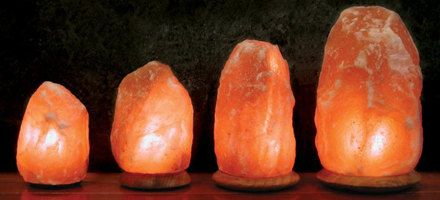 Air Purifying pure himalayan salt lamps. These lamps provide a beautiful glow that warms your heart. The lamp is a natural air purifier and will
