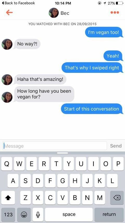 Funny Tinder pick-up lines that actually worked