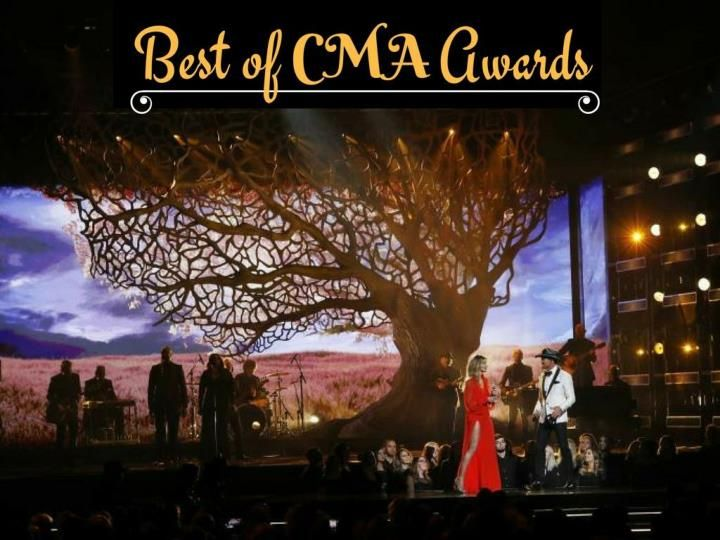 Highlights from the Country Music Association\'s annual awards in Nashville.