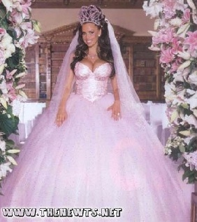 Horrible wedding dresses pictures