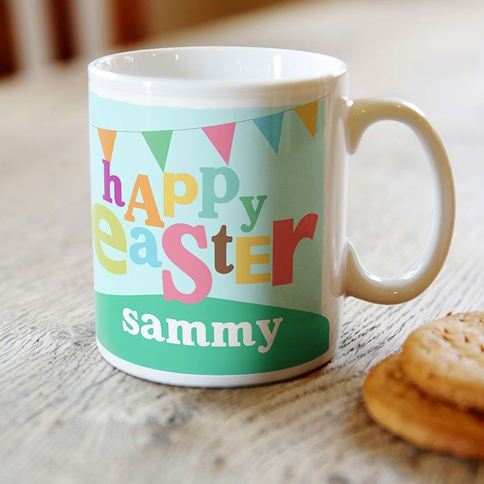 96 best easter images on pinterest personalised easter mug happy easter gettingpersonal negle Gallery