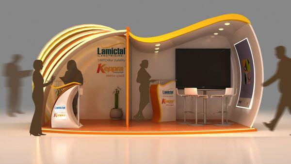 3d Exhibition Booth Design : Exhibition design for medicine company innovative d