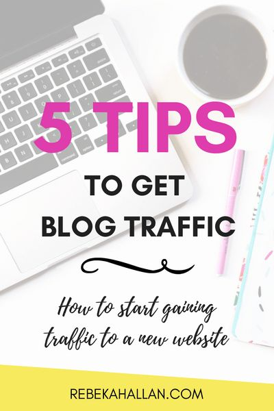 5 Tips on How to Start Gaining Traffic on a Blog | Getting traffic and people to your website is important. Here are 5 tips to get blog traffic (in the first 4 weeks, I got 2,111 page views with ...
