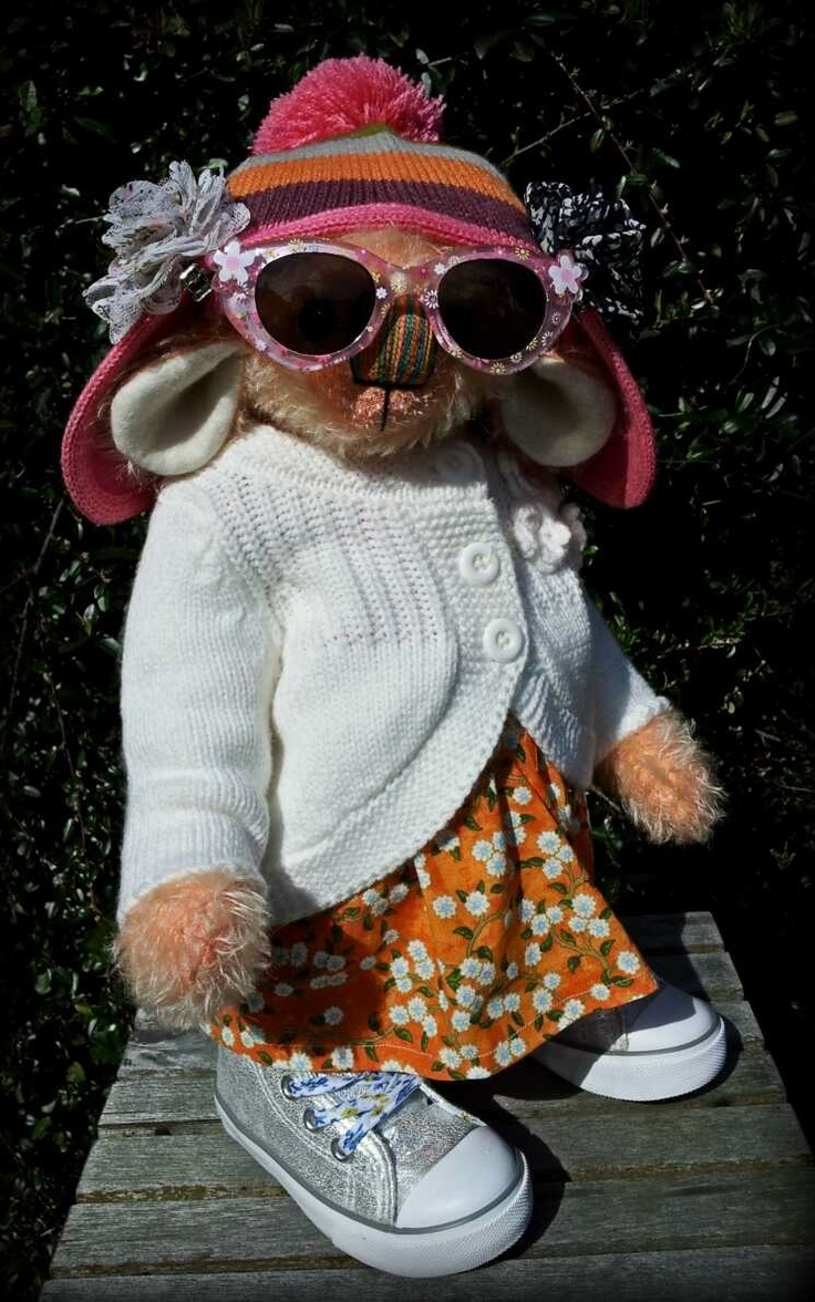 Maisie Marigold...likes Lady GaGa and is a bit of a sun goddess.