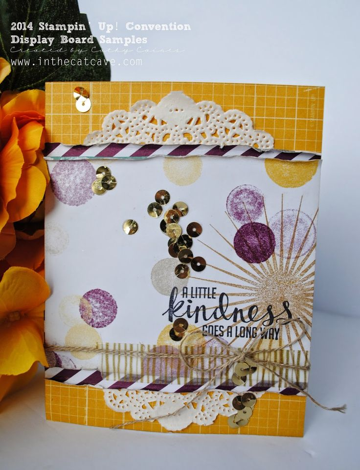 Convention Display Projects | DSP madness by Cathy Caines @stampinup