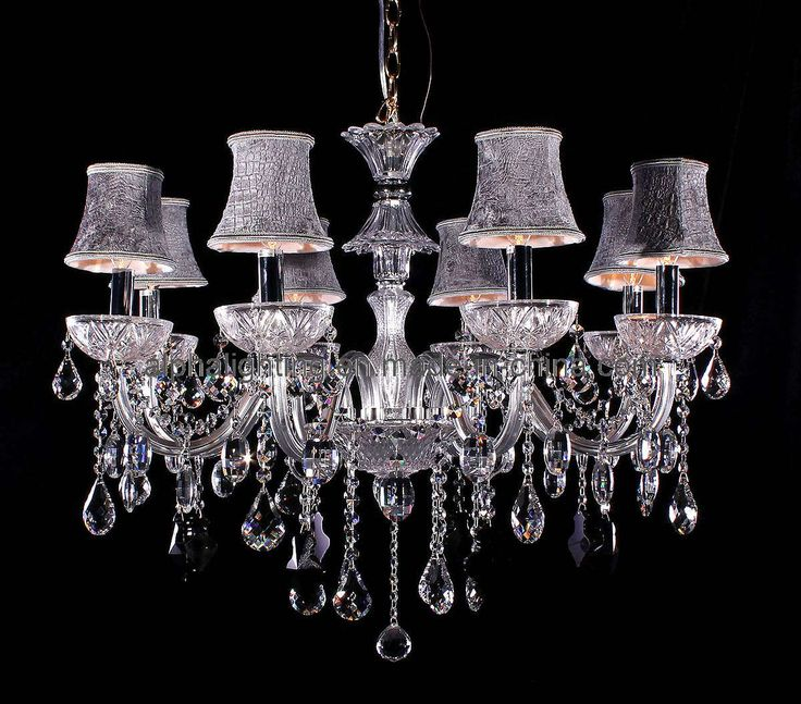 Awesome luxurious crystal chandelier in modern style to decorate any rooms also modern crystal chandeliers