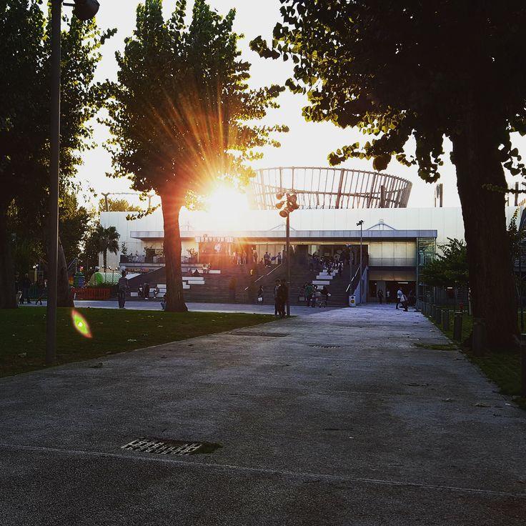 https://flic.kr/p/PnJpwZ | Tramonto autunnale | Pompei