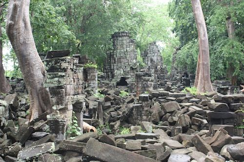 Banteay Chhmar Temple  Date: Late 12th to early 13th century, Reign: Jayavarman VII, Religion: Buddhist