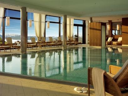 Alpine Pool - InterContinental Berchtesgaden Resort