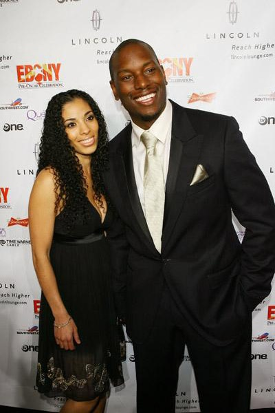 The multi-talented Tyrese Gibson with his Wife Norma Gibson Mitchell