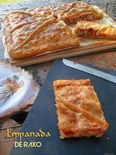 Con sabor a canela: Empanada gallega de raxo ( con masa al momento )