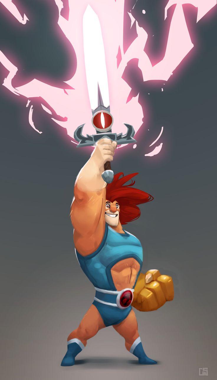 Os personagens ilustrados de Corey Smith