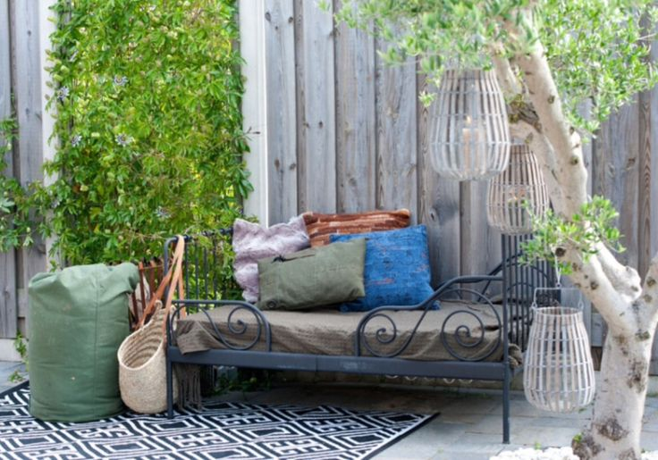 """This marvelous outside area is from our feature """"Go Bold"""""""