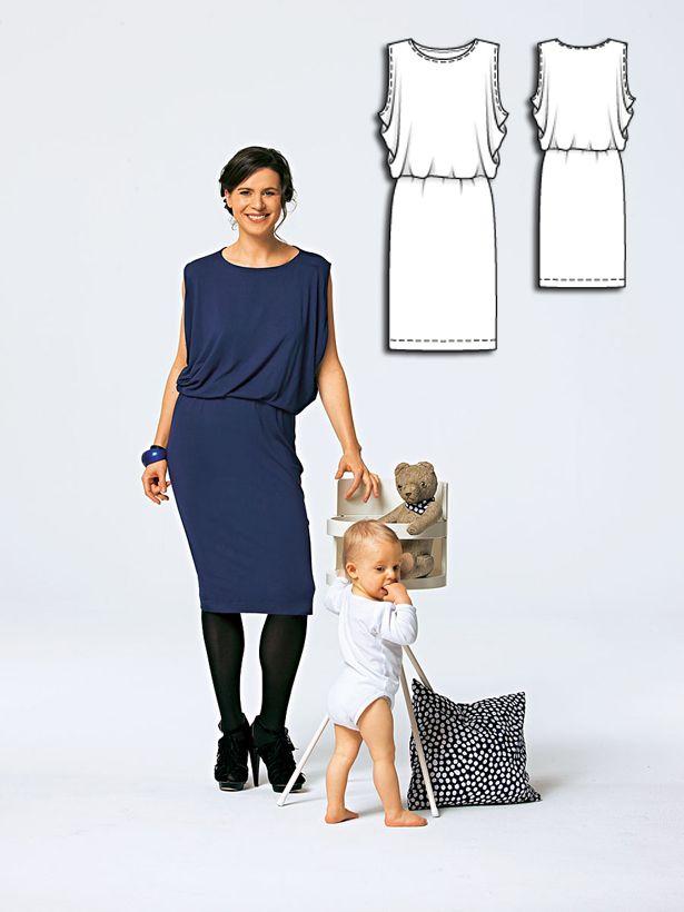 Jersey Dress 05/2010  #burdastyle #sewing #pattern #diy #sew