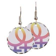 Gay Symbol - Female  Ohrring
