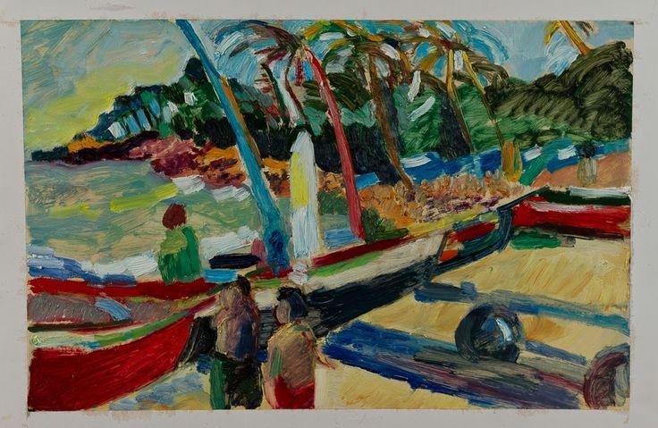 Marina Goldaracena Pinturas: Jericoacoara