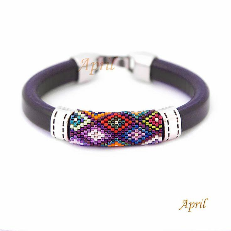 http://polandhandmade.pl #polandhandmade #beading #bracelet