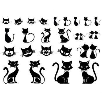 Dibujos De Gatos Para Tatuajes Buscar Con Google T