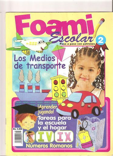 Foami Escolar n002 - REVISTAS DIVERSAS - Picasa Web Albümleri
