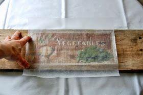 Applicazioni Grafiche: Stampare sul legno: Carta Forno ed una Stampante di casa