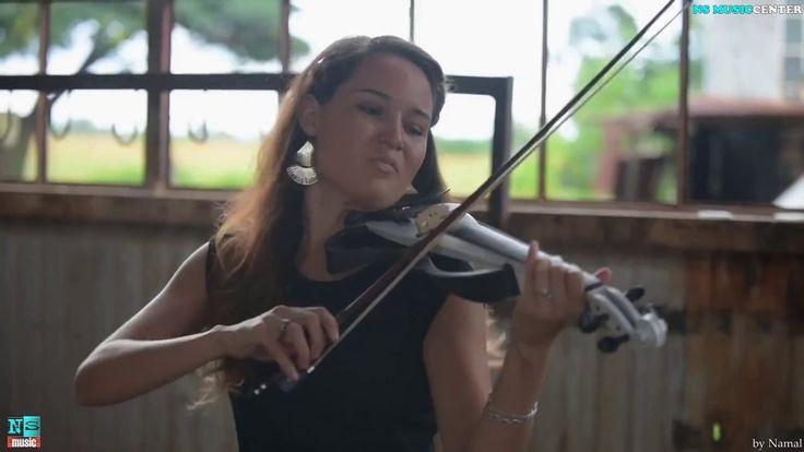 Despacito & Me Enamoré  Electric Violin Cover _(NS MUSICCENTER EDITED)-b...