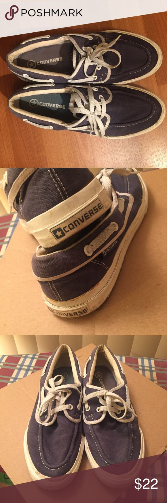 Men's Converse Boat Shoes Men's Converse Boat Shoes. Shoe is a little worn, but great for its worth! Size: 9.5 Converse Shoes Boat Shoes