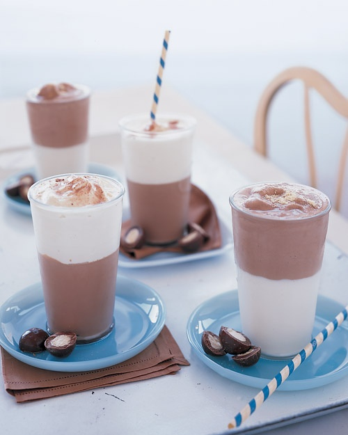 Homemade Malted Milk Shakes Recipe
