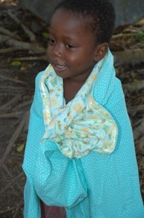 blankets for haiti orphans
