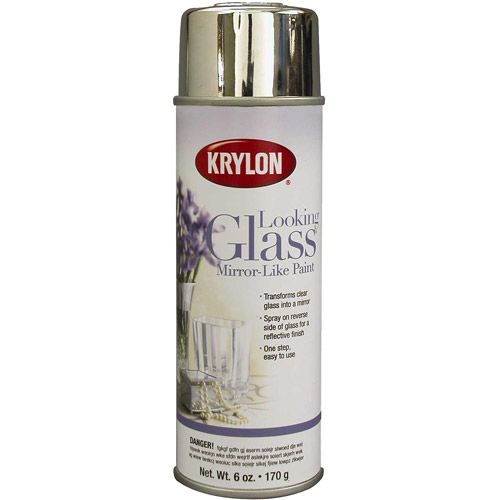 Create yout own mirro with this $10.29 Krylon Looking Glass Paint 6 oz - Walmart.com