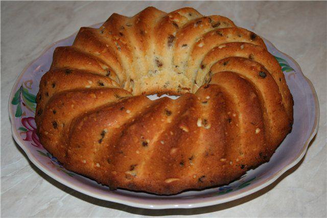 творожный кекс с изюмом +vipechka s tvoroga!