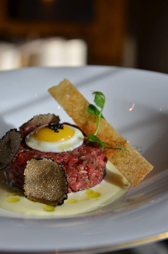 Chef Alessandro Salvatico's truffle menus at #Armani / Ristorante feature classic and contemporary creations with both earthy black and fragrant white truffle at the Armani Hotel Dubai.
