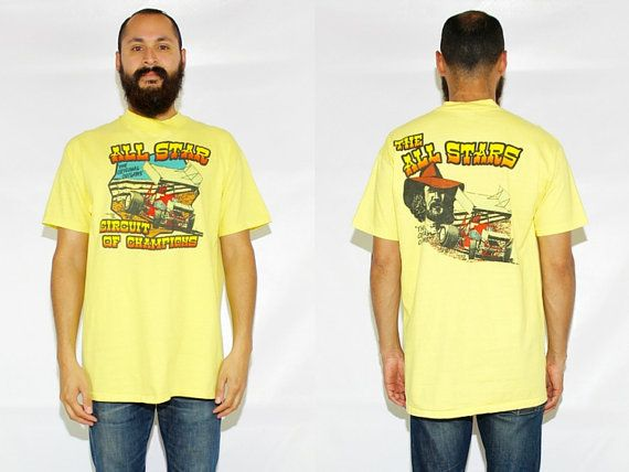 Vintage 80s Original Outlaws Racing Tshirt All Star Circuit of Champions Tee Outlaw Racing Tshirt - XL by DiveVintage from Passport Vintage. Find it now at http://ift.tt/2dyhOSj!