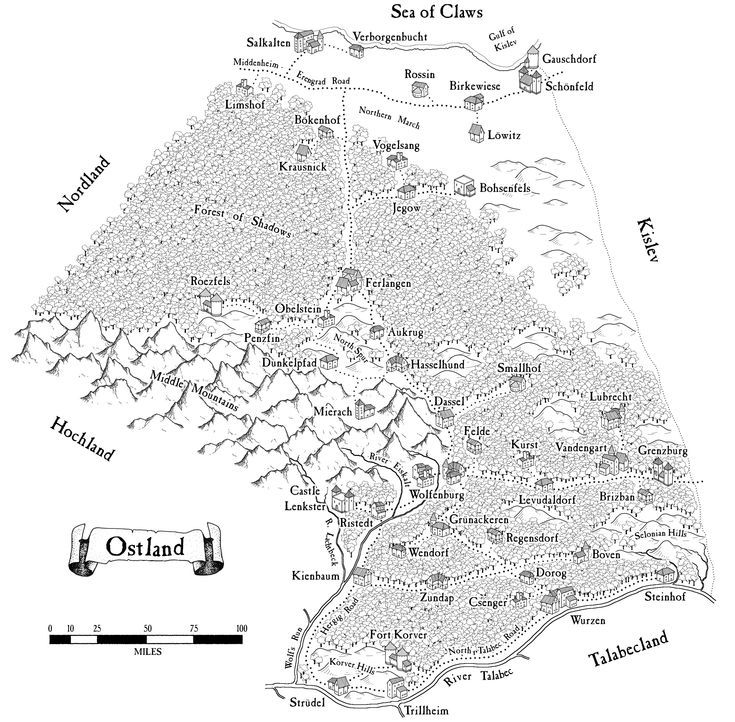 a map of Ostland