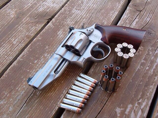 Smith & Wesson 627 Series 8-shot .357 Magnum..good to have