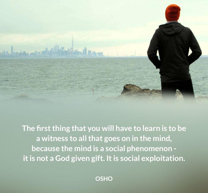 #mind #osho