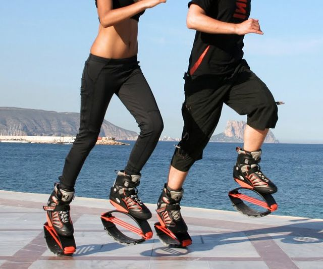 Kangoo Jumps Anti-Gravity Fitness Boots | DudeIWantThat.com