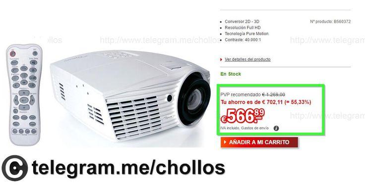 Proyector Optoma HD161X sólo 566 - http://ift.tt/2eoAaqz