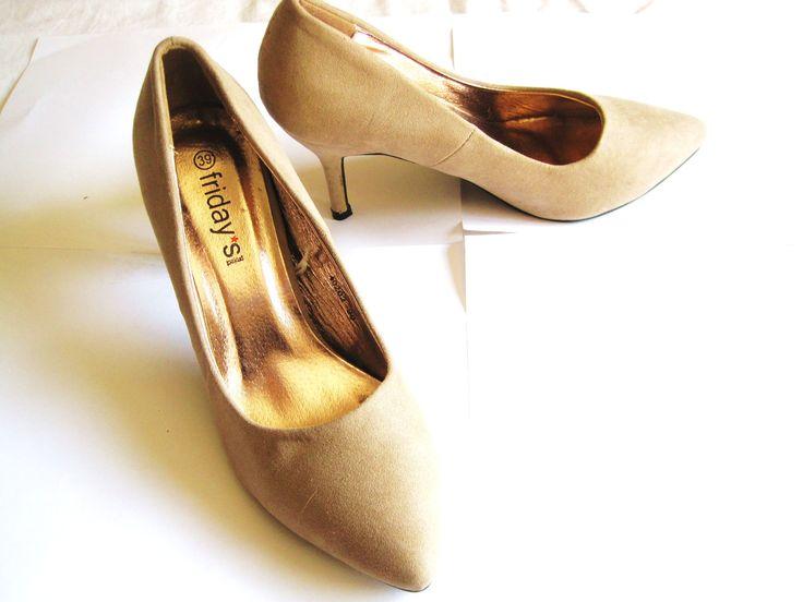 Zapatos color nude #39 sin estrenar 5€