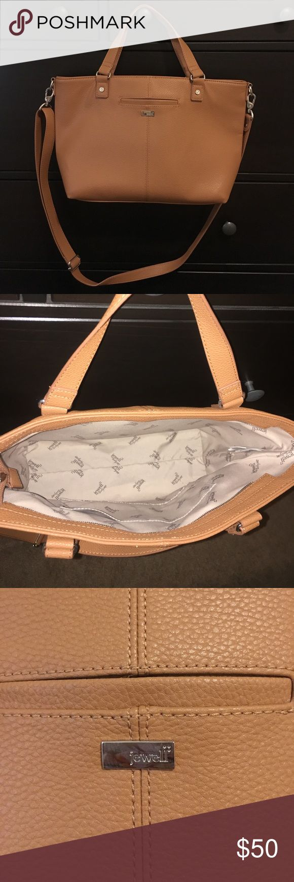 Thirty-One Jewell Handbag Brown Thirty-One Miles of style handbag. Never been used. Non-smoker home. ❌ No trades. Jewell by Thirty-One Bags Shoulder Bags