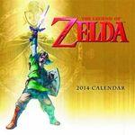 Name: Legend of Zelda 2014 16 Month Wall Calendar Series: Legend of Zelda Release Date: August 2013 For ages: 4 and up Details (Description): Return to Hyrule in 2014 with this new 16-month Legend of Zelda calendar.