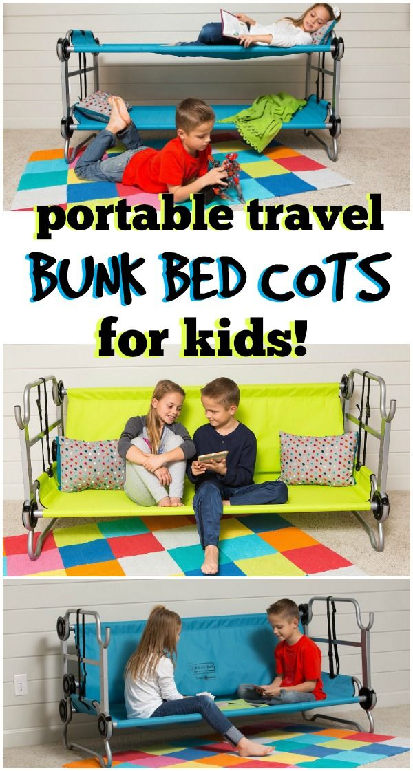 Portable kids travel bed bunk bed cots   OMG! This is the perfect