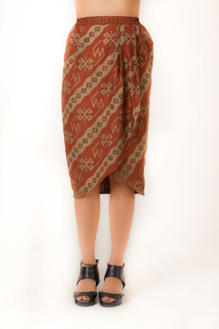 Bratan Skirt - Available for purchase at http://www.noki-id.com/